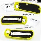 UTILITY FOLDING KNIFE STANLEY TYPE WORK TRADESMAN TRIMMING BLADES NOT INCLUDED