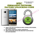 HTC permanent network unlock code service for HTC Touch HD2 Leo