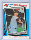 1982 Kmart WRONGBACK ERROR - Boog Powell Orioles - Willie Mays Giants 1965 Topps