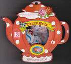 Chipbox Bloomscape Floral Chipboard Blue Red Alphabet Letter Scrapbook K