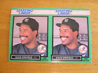 RARE! 1989 Starting Lineup card UNCUT DOUBLE TEST PROOF - Dave Winfield Yankees