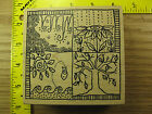 Rubber Stamp Four Seasons by Magenta Scenery Nature Bkgd Stampinsisters 1206