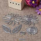 Flower Daisy Metal Cutting Dies DIY Scrapbooking Album Paper Card Embossing New