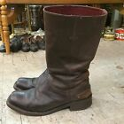 vintage cowboy western biker motorcycle leather ARIAT womens boots size 10B