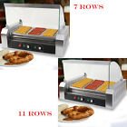11 Roller Grill Cooker Sausage Machine W/ Cover