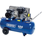 Draper DA100/330 Belt Driven Air Compressor 100 Litre 240v