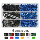 For Yamaha 223pcs CNC Fairing Bolts Kit Bodywork Screws Aluminum YZF FZ MT FJR