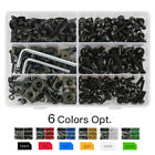 223pcs CNC Aluminum Fairing Bolts Kit Bodywork Screws For Aprilia RSV4 RSV RS