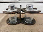 WESTERN COWBOY HORSESHOE SALT  PEPPER SHAKERS SET HOME KITCHEN DECOR
