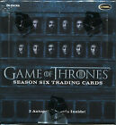 2017 Game of Thrones Season 6 Factory Sealed Box w 2 autographs + P1 Promo Card