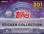 2017 Topps MLB Baseball Sticker Collection Factory Sealed Box 50 Packs 400 Total