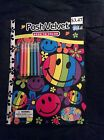 Lisa Frank Dalmatian Press Posh Velvet Book To Color Tear and Share Pages New