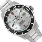 Rolex Men's Submariner Stainless Steel 40mm MOP Diamond Dial - Pre-Owned