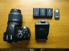 Nikon D5100 16.2MP Digital SLR Camera - (with VR 18-55 mm Lens)-GREAT CONDITION