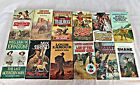 Lot of 12 Western Paperback Books Various Authors