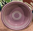 Fiesta Fiestaware Lilac Purple Medium Cereal Bowl Ltd Retired Never Used VHTF
