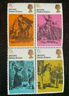 Charles dickens stamps x 4