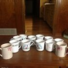 Lot Of 12 Corelle Coffee Mugs-Outer Banks, Spring Blossom, Holly Days