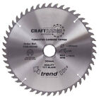 Trend CRAFTPRO Non Stick Wood Cutting Saw Blade 250mm 60T 30mm