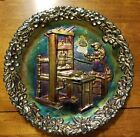 Fenton Carnival Glass 1971 Collectors Plate Colonial Printing Press