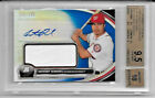 2013 BOWMAN PLATINUM ANTHONY RENDON RC BLUE REFRACTOR AUTO JERSEY 199 BGS 9.5