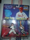 1999 Starting Lineup Classic Doubles HR RB MARK MCGWIRE & ROGER MARIS FIGURES