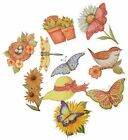 K and Company Susan Winget Spring Blossom Die-cut Cardstock and Acetate, Icons