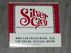 VINTAGE PACK OF MATCHES FROM THE SILVER CITY CASINO LAS VEGAS NV