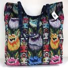 NWT Founders Imports Fair Trade Hand Woven Floral Embroidered Guatemalan Handbag