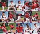 2017 ANGELS TOPPS NOW ROAD TO OPENING DAY 15-CARD TEAM SET - PRINT RUN QTY: 85