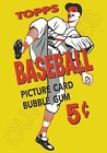 1956 Topps Wax Pack Wrapper Store Counter Standup Sign Repro Mickey Mantle