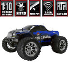 RedCat Racing Volcano Blue S30 1/10 Scale RTR Nitro Monster Truck