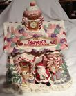 Fitz and Floyd Candy Lane Express Cookie Jar Santa's Railroad Station