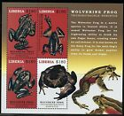 LIBERIA 2017 FROGS SHEET MINT NH