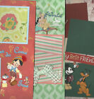 U CHOOSE Assorted 2 PAGE PREMADE SCRAPBOOK LAYOUTS 12X12 disney muppet marvel