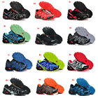 Mens Sports Salomon Speedcross 3 Athletic Sneakers Running Hiking Casual Shoes