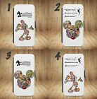 MICKEY MOUSE Disney Wallet Flip phone Case Cover For iPhone & SAMUNG MODELS