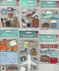 U CHOOSE Assorted Jolees PLANE TRIP travel 3D Stickers luggage airplane camera