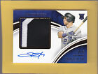 2016 Immaculate Baseball Trevor Story Premier Patch Rooke Auto 25 Ref# 051217