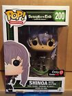 Seraph of the End: Shinoa with Scythe Funko POP #200 Gamestop EXCLUSIVE *NEW