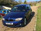 LARGER PHOTOS: 2008 BMW 118D M SPORT IN LE MANS BLUE METALLIC DEISEL