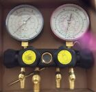 Air Conditioning Four Value Manifold Gauges