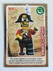 Sainsbury's CREATE THE WORLD - LEGO TRADING CARD - No. 136 - Pirate Captain