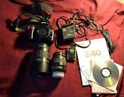 Nikon D40 61MP Digital SLR Camera with extra lens charger 2GB SD card