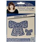 Tattered Lace Die Set Steel Dies CHANTILLY BOW Scrapbooking