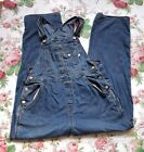 Old Navy Women Bib Carpenter Blue VTG Overalls Size S