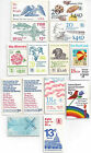 US POSTAGE STAMP BOOKLETS 14 diff 13 to 25 Face value 41