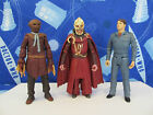 DR DOCTOR WHO SYCORAX LEADER SCARECROW CAPTAIN JACK HARKNESS FIGURES BUNDLE