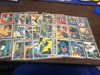 1966 Topps reissue BATMAN BLACK complete 55 card set