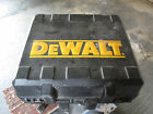 Dewalt battery, charger and case for circular saw
